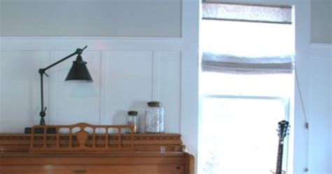 neutral color above wainscotting china moon by valspar trim is clean white by waverly valspar