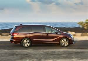 Minivan Honda All New 2018 Honda Odyssey Priced From 30 800