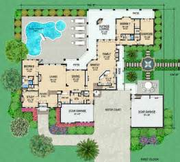 10 Bedroom House Floor Plans by Luxury Style House Plans Plan 63 266