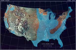 map of us after sea level rise if a great flood comes where do you go page 1