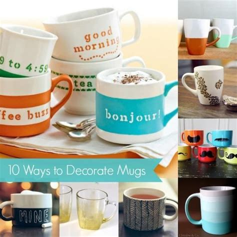 How To Decorate Mugs by The 300 Best Images About Craft Paint Creations On