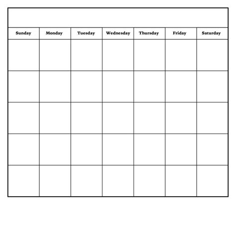 free printable blank monthly calendar template 25 best ideas about monthly calendar template on