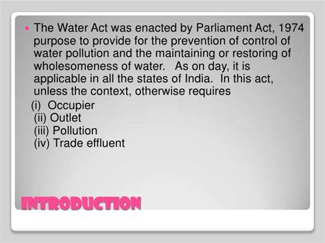 section 9 water act water protection act