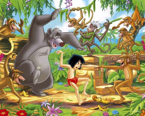 cartoon film jungle book disney images the jungle book hd wallpaper and background