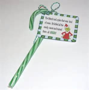 Grinch Favors by Tag With Grinch Poem Favor