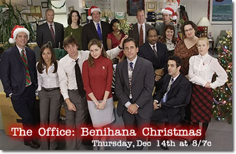 the office holiday episodes season 4 a benihana