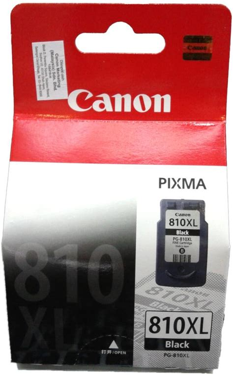 Tinta Catridge Canon Pg 810 Black Hitam Original Resmi genuine canon pg 810 xl blac end 10 26 2019 2 25 pm myt