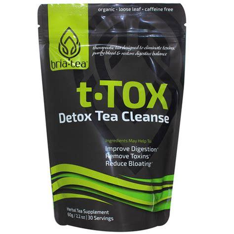 Detox S T by Bria Tea T Tox Detox Tea Cleanse 2 2 Oz Evitamins