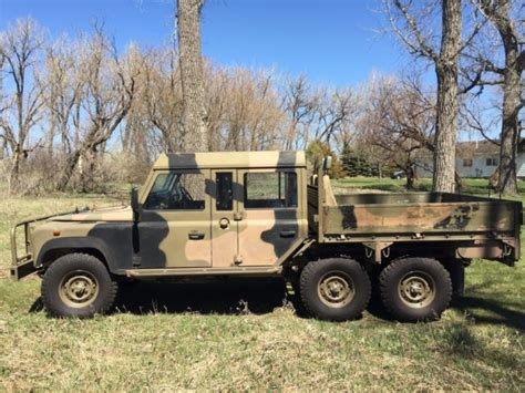 1991 land rover 6x6 cab perentie for sale land