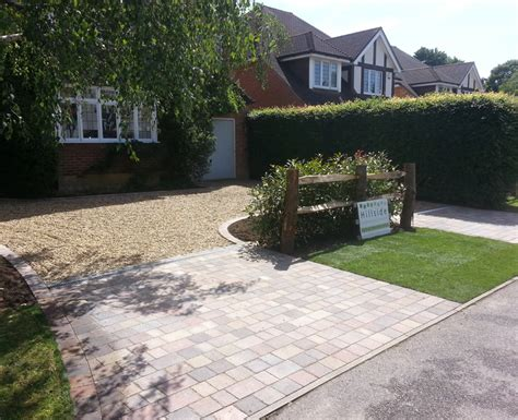 in out driveway bookham surrey hillside landscape services