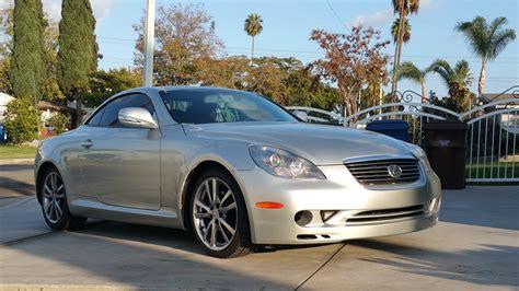 2010 lexus sc430 ca 2010 lexus sc430 oem upgrade mirror headlight and
