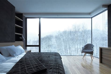 fluffy and cozy winter inspired interiors 20 photos cozy winter bedroom with open view