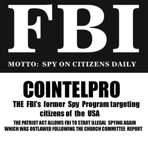 a threat of the magnitude fbi counterintelligence infiltration from the communist to the revolutionary union 1962 1974 books has cointelpro returned 187 darkgovernment