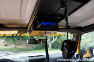 Jeep Tj Overhead Cb Mount Cb Mounting Location For 2012