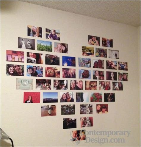 Diy Bedroom Decorating Ideas For Teens by Photo Collage Ideas For Bedroom Wall