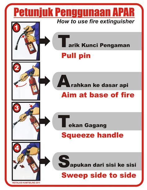 Alat Pemadam Api Kereta cara menggunakan alat pemadam api jakartafire net dinas penanggulangan keba