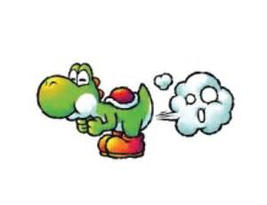 yoshi farts colouring pages