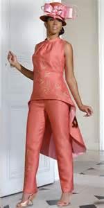 donna vinci 11164 womens fashion pant suit french novelty