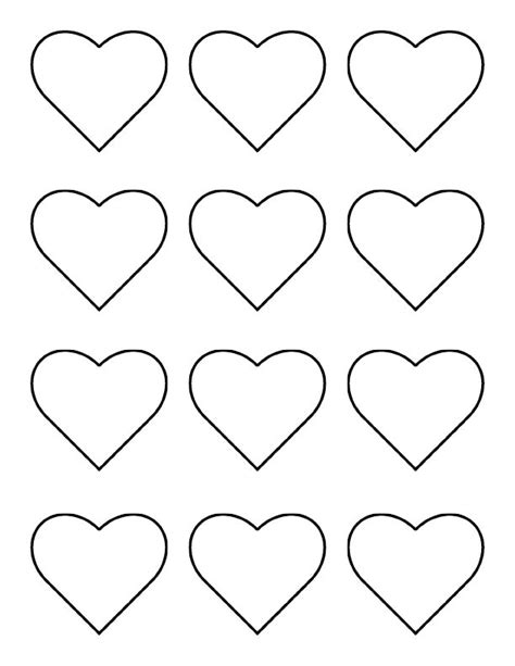 Hearts Template the iced royal icing chain of hearts