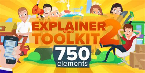 Explainer Video Toolkit 2 By Taerar Videohive Explainer Template