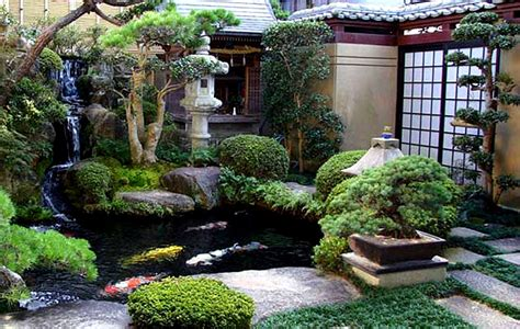 Backyard Japanese Garden by Lawn Garden Japanese Garden Designs For Small Spaces