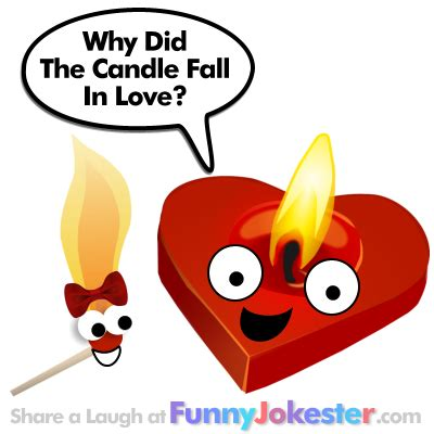 clean valentines day jokes joke candle in laugh