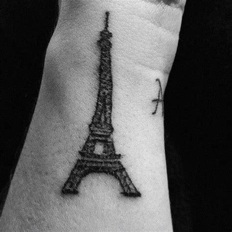 tattoo cost paris eiffel tower tattoo skin needles pinterest