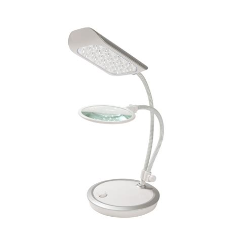 craft l with magnifier triumph led desk l with magnifier led ls lincraft