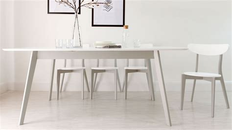 white dining tables uk modern grey and white extending dining table 8 seater uk