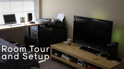 Apartment Gaming Setup College Tech Office Setup Gaming Setup Room Tour 2013