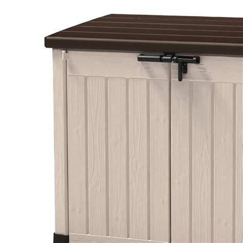 Box Garten gartenbox sore it out max in beige braun garten freizeit