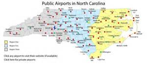 airports carolina map carolina airports association nc airports
