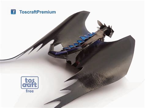 tos craft toothless how to your 2 papercraft