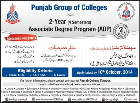 Mba In Accounting And Information Technology Management by Admissions Open 2014 15 In Punjab Of Colleges