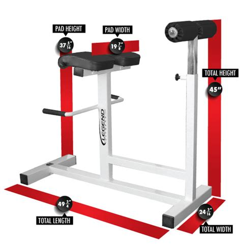 legend adjustable bench adjustable horizontal hyperextension bench legend