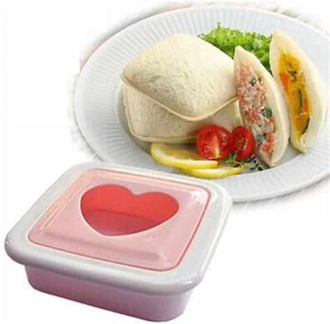 Pemisah Telur Bahan Silikon sandwich toaster shaped mold cetakan kue hati