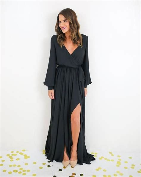 Longdress Diana Back 25 best ideas about black sleeve dress on