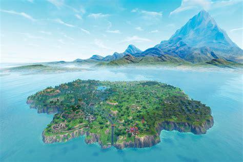 fortnite island name fortnite island landscape digital