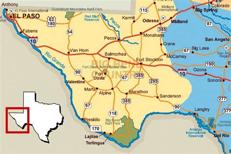 ft texas map texas map fort stockton