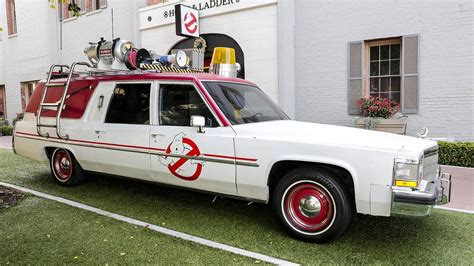 Ecto One Car by Ghostbusters Ecto 1 1982 Cadillac Ambulance And