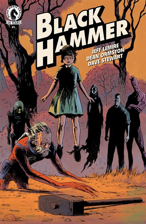 swinging heroes eccc 2016 jeff lemires black hammer ongoing series
