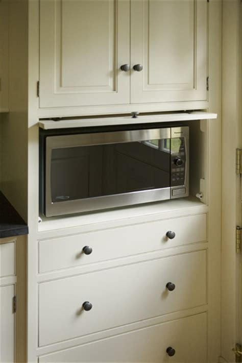 kitchen cabinets with microwave shelf microwave cabinet traditional kitchen boston by heartwood kitchens