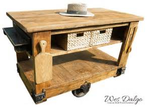 Butcher Block Kitchen Island Cart Rich Golden Oak Rustic Kitchen Island Cart With Butcher