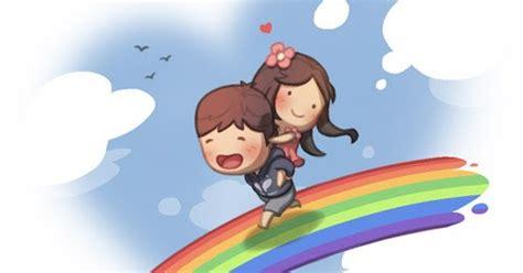 kartun lucu    jatuh cinta patah hati
