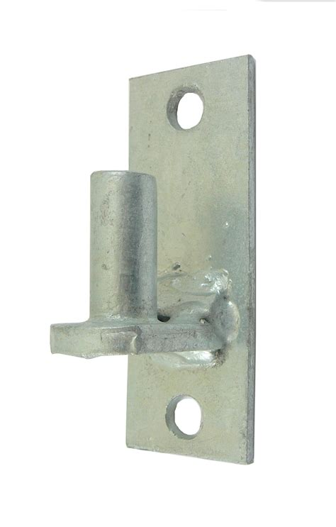 wall mount flat  chain link fence gate hinge