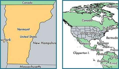 us map states vermont where is vermont state where is vermont located in the