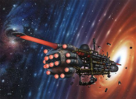 eternal light by elson science fiction illustrator