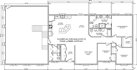 floor plan elevations floorplan for elevation 2 png sle floorplans pinke