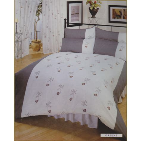 Single Bedding And Curtain Sets Single Orient Bumper Bedding Set Including Curtains Ebay