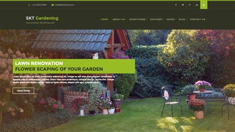 themes wordpress garden 30 best gardening landscaping wordpress themes in 2016